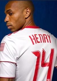 Thierry Henry portará o seu já tradicional número 14 nos EUA