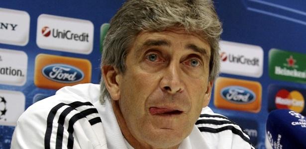Pellegrini em sua época de Real Madrid