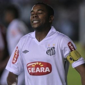 Robinho estreou no Brasileiro, e quarteto ofensivo passou em branco pela 1ª vez no ano