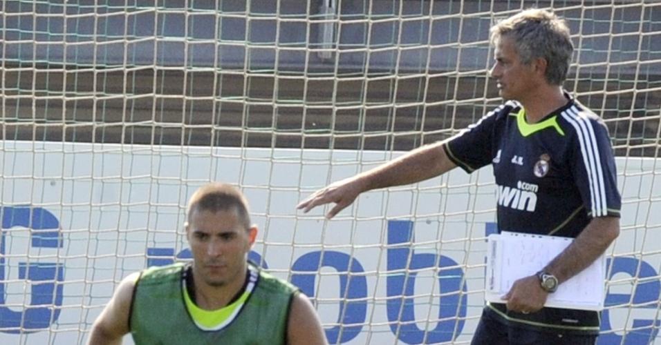Mourinho comanda treino do Real Madrid nesta segunda-feira
