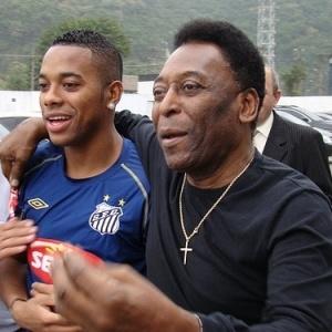 Pelé esteve no CT, conversou com os jogadores e disse: precisava passar essa confiança