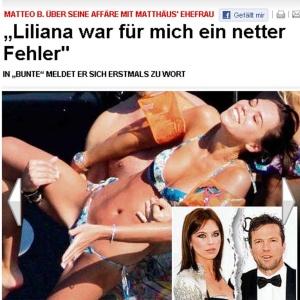 Lothar Matthaus se divorciou após traição da mulher Liliana com italiano