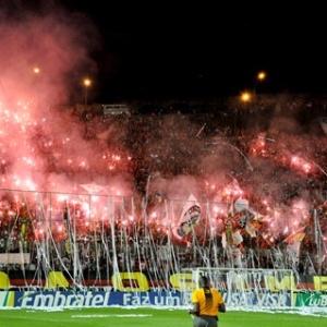 Torcida do Vitória no Estádio Barradão