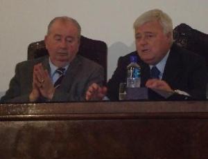 Grondona e Teixeira se reuniram nesta sexta-feira na AFA para firmarem acordo de amistosos