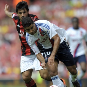 Convocado por Mano Menezes para amistoso, Ederson teve atuação discreta no empate do Lyon com Milan