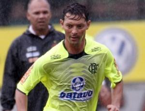Atacante Leandro Amaral está confiante para a sua estreia pelo Flamengo, no sábado, no Maracanã