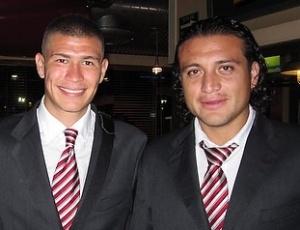 Reynoso (d) confia na chance de virada: Estamos somente a um gol da prorrogação, diz capitão