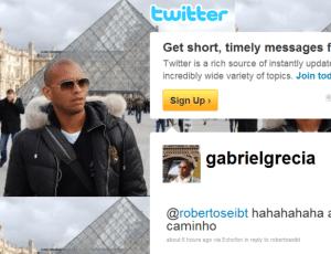 Via Twitter, Gabriel comunicou vinda para o Brasil, Grêmio gostou da informação e pode contratar