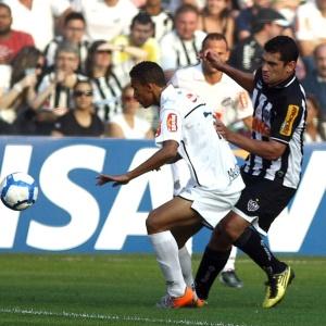Atlético, do meia Diego Souza, foi derrotado pelo Santos por 2 a 0 na Vila Belmiro no domingo