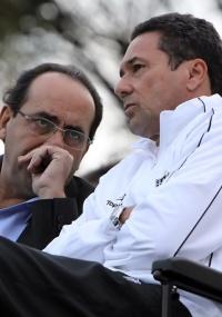 Kalil diz que Luxemburgo está comprometido com o Atlético