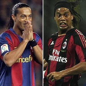 Ídolo no Barcelona, Ronaldinho, hoje no Milan, vai se reencontrar com Camp Nou nesta quarta-feira