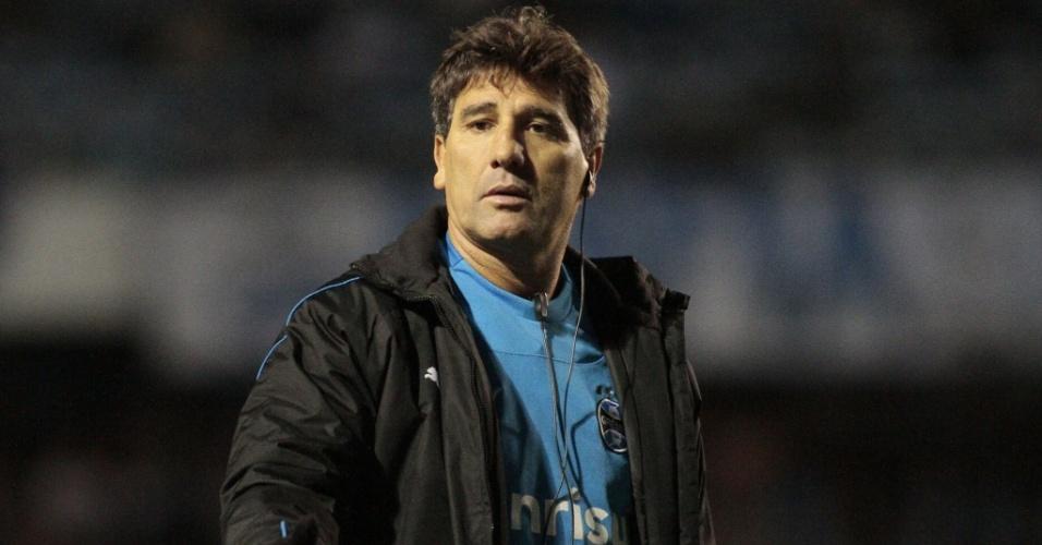 Renato Gaúcho em jogo do Grêmio