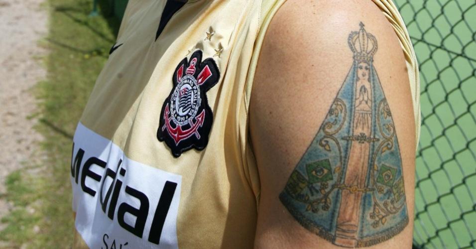 Tatuagem de Chicão