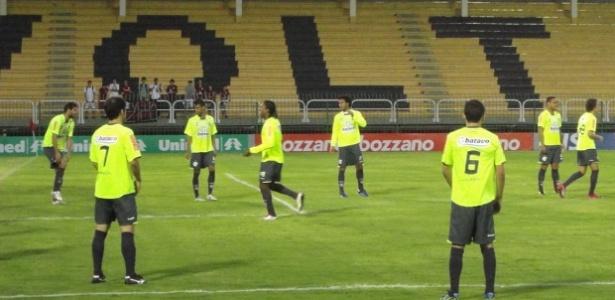 Raulino se tornou opção aos jogos do Carioca após a interdição do Engenhão