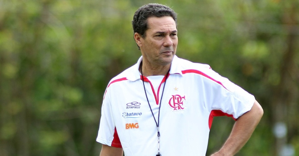 Vanderlei Luxemburgo, técnico do Flamengo