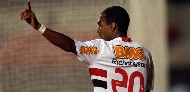 Sob o comando de Muricy, Richarlyson foi tricampeão brasileiro pelo São Paulo