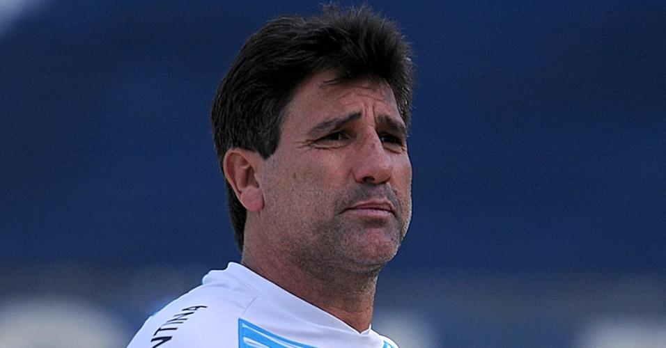 Renato Gaúcho comanda treinamento gremista