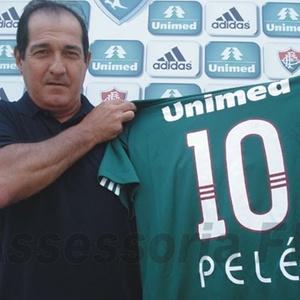 Muricy Ramalho faz homenagem a Pelé