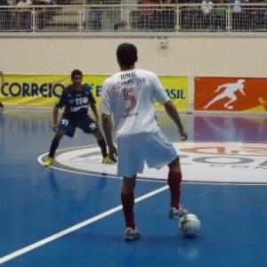 Equipe do Krona abriu a Liga Futsal com vitória
