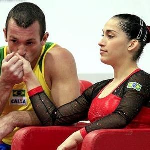Diego e Daniele Hypolito estão na primeira convocação da seleção de ginástica artística em 2010