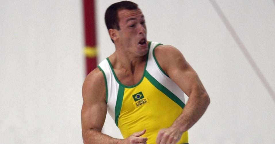 Diego Hypolito conquistou o ouro no solo dos Jogos Sul-Americanos
