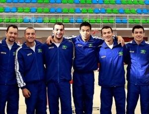 Seleção brasileira masculina de ginástica foi bem em torneio amistoso antes do Pré-Pan