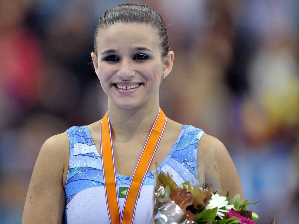 Jade Barbosa conquista o bronze no salto no Mundial de Roterdã, na Holanda