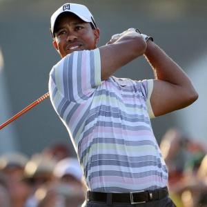 Em seu retorno ao circuito, Woods aproveitou para treinar logo cedo para o Masters de Augusta
