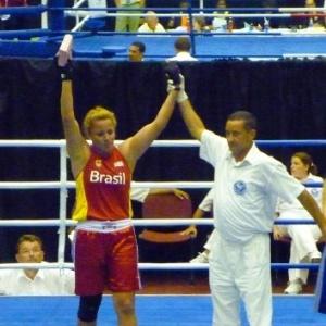 Roseli Feitosa se tornou a primeira brasileira a conquistar uma medalha de ouro em Mundiais