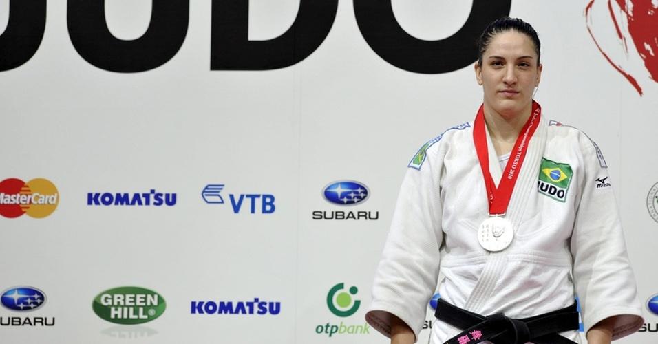 Mayra Aguiar conquista medalha de prata no Mundial do Japão