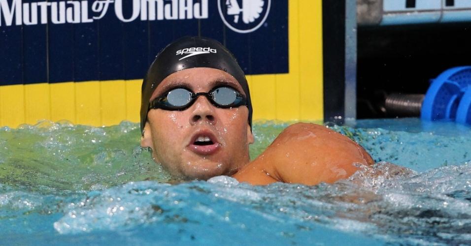 Thiago Pereira fica em terceiro lugar na final dos 400 m medley no Pan-Pacífico
