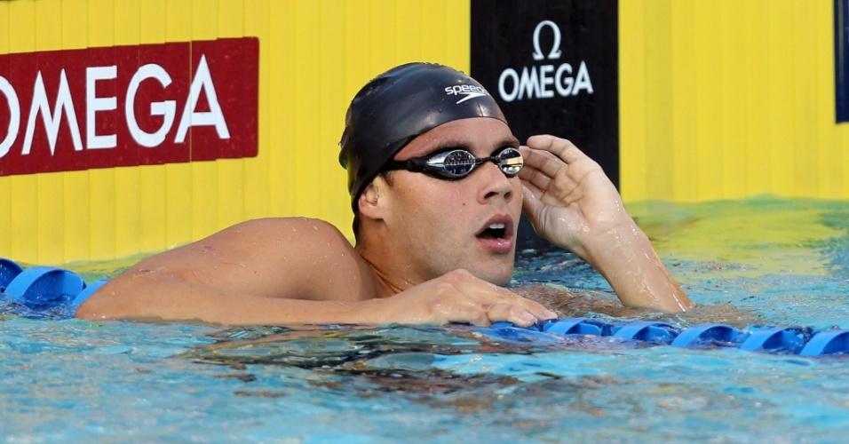 Thiago Pereira conquista a medalha de bronze nos 200 m medley do Pan-Pacífico de Irvine