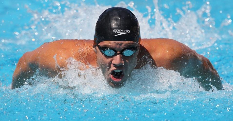 Thiago Pereira disputa 100m medley na etapa do Rio de Janeiro da Copa do Mundo