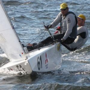 Bruno Prada e Robert Scheidt treinam no Rio de Janeiro