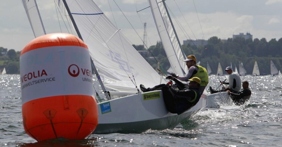 Bruno Prada e Robert Scheidt participam da Semana de Kiel