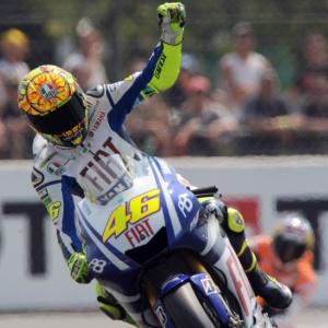 Imagem  Jean-Francois Monier AFP. Italiano Valentino Rossi ... 8af64e8121eb3