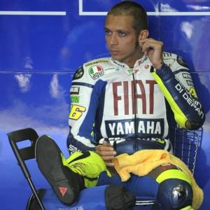 Valentino Rossi anunciou a sua saída da Yamaha após sete anos na equipe e foi para a Ducati