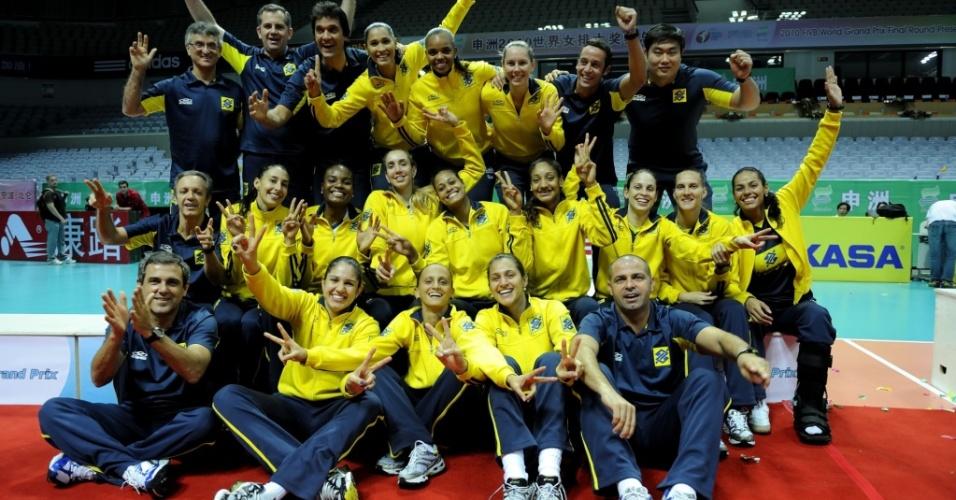 Brasil comemora a prata no Grand Prix 2010