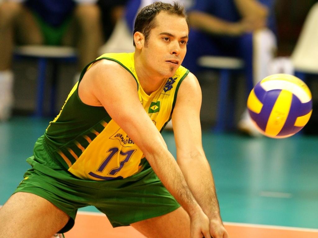 Ricardinho, ex-levantador da seleção brasileira